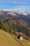 Autumn in mountains. Stock Photography