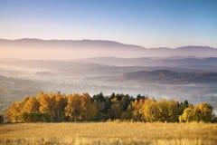 Autumn in mountains Stock Photos