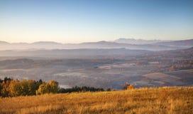 Autumn in mountains Royalty Free Stock Photo