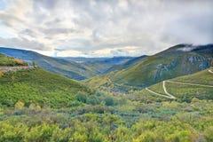 Autumn Mountains. Colorful mountains in Galicia, Spain, Europe Stock Photos