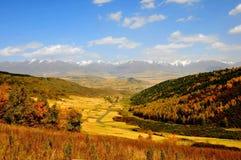 Autumn Mountains Stock Afbeelding