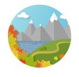 Autumn Mountains Immagine Stock Libera da Diritti