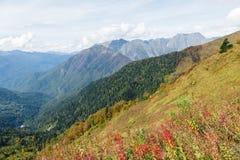 Autumn Mountains Fotografering för Bildbyråer