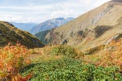 Autumn Mountains Royaltyfria Bilder