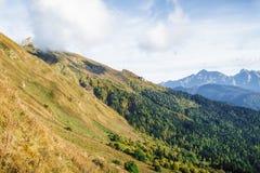 Autumn Mountains Arkivbild