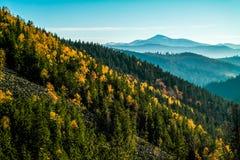Autumn Mountains Royaltyfri Fotografi