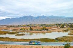Autumn Mountains Stock Foto