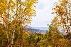 Autumn in the mountains Stock Photo