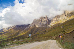 Autumn in the mountains of the Caucasus. Royalty Free Stock Photos