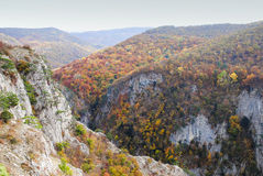 Autumn in the mountains Royalty Free Stock Photography