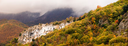 Autumn on mountains, Italy Stock Photos