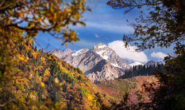 Autumn mountains Stock Photo