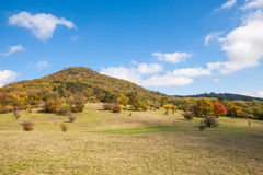 Autumn Mountains Landscape Immagine Stock