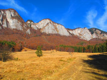 Autumn mountains landscape Royalty Free Stock Images