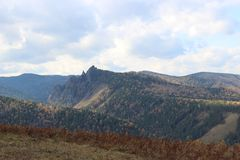 Autumn in the mountains Royalty Free Stock Images
