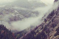 Autumn mountains Stock Photo