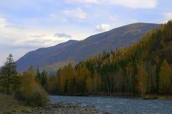 Autumn in the mountains Stock Photos