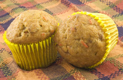 Autumn Muffins Stock Images