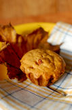 Autumn muffins Stock Image