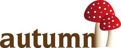 Autumn Mushroom Royalty Free Stock Images