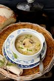 Autumn mushroom soup Royalty Free Stock Images