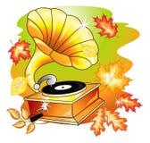 Autumn music Stock Images