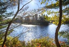 Autumn on Muskoka Lakes, Canada. Autumn on Muskoka Lakes, Ontario,  Canada Stock Images