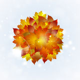 Autumn Nature Abstract Background stock de ilustración