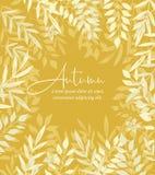 Autumn nature background. Vector illustration of decoration leaves. Autumn nature background. Greeting cards vector illustration