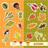 Autumn nature children applique Royalty Free Stock Photos
