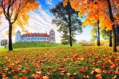 Autumn Nature parkerar in Royaltyfri Foto