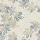Autumn nature themed seamless pattern Stock Photography