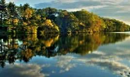 Autumn in New England Stock Photography