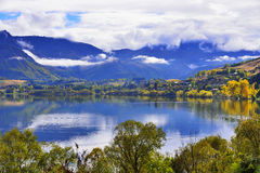 Autumn in New Zealands South Island Royalty Free Stock Image