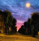 Autumn Night Photo libre de droits