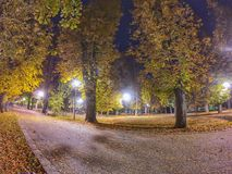 Autumn Night fotografia de stock