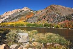 The autumn on Northern lake Royalty Free Stock Photos