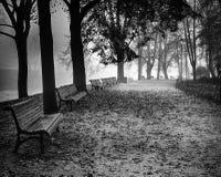 Autumn Nostalgia in Vilnius, Litouwen stock foto
