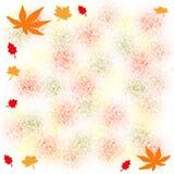Autumn note royalty free illustration