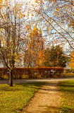 Autumn Novodevichy Monastery in Moscow, Russia. Royalty Free Stock Images