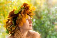 Autumn nymph Royalty Free Stock Photos