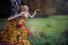 Autumn Nymph Stock Photo