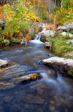 Autumn Oasis. Waterfall in the high desert (Carson City, Nevada royalty free stock image