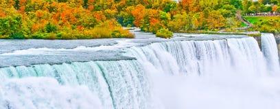 autumn objętych Niagara Fotografia Stock