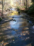 Autumn in Ohio. A scene from the Cleveland metroparks in fall Stock Image