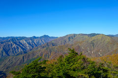 Autumn in Oku-Nikko Royalty Free Stock Photo