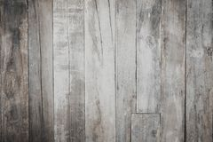 Autumn old plank wooden background. Old wood pattern of fall stock photo