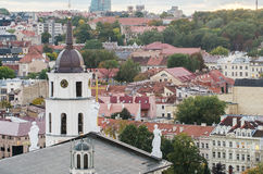 Autumn in Old Town of Vilnius, Lithuania Royalty Free Stock Images