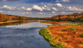 Free Autumn On The Kankakee River Stock Image - 21572461