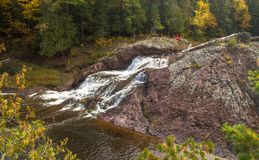 Autumn In The Ottawa National Forest Royalty Free Stock Image